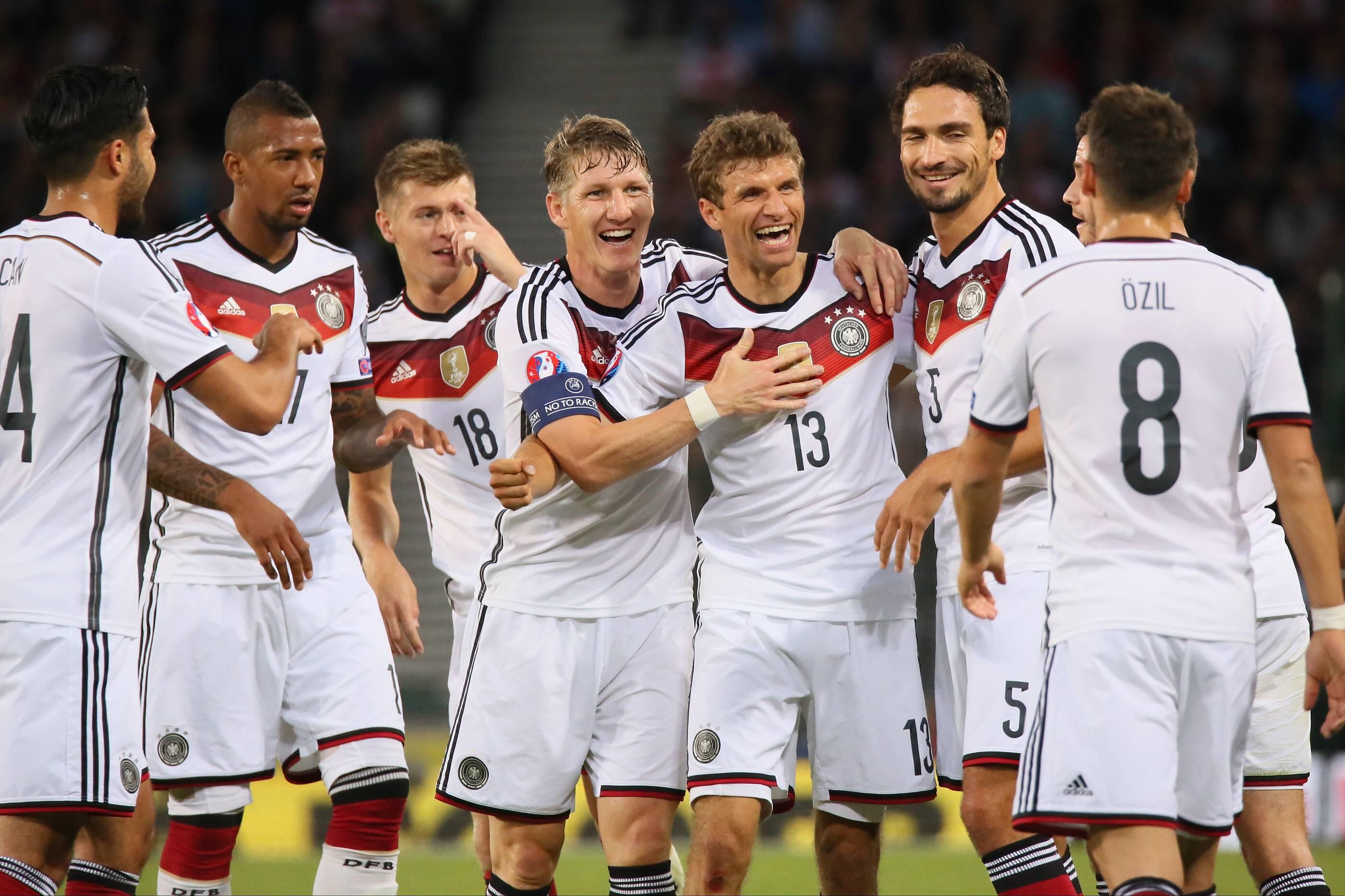 Les Champions du Monde Allemands veulent aussi l'Euro