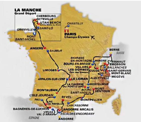 Le guide du Tour de France 2016