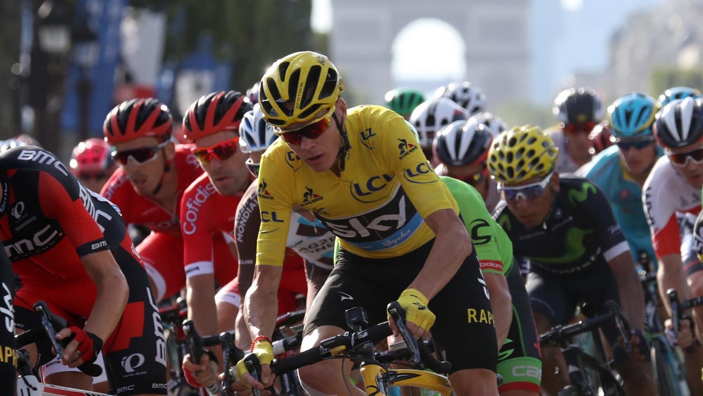 Les chiffres du Tour de France 2017