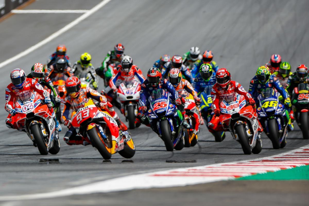 Le Grand Prix Moto est de retour