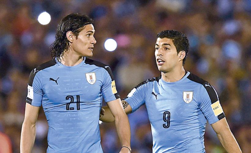 Suarez et Cavani veulent de nouveau emmener l'Uruguay vers les hauteurs