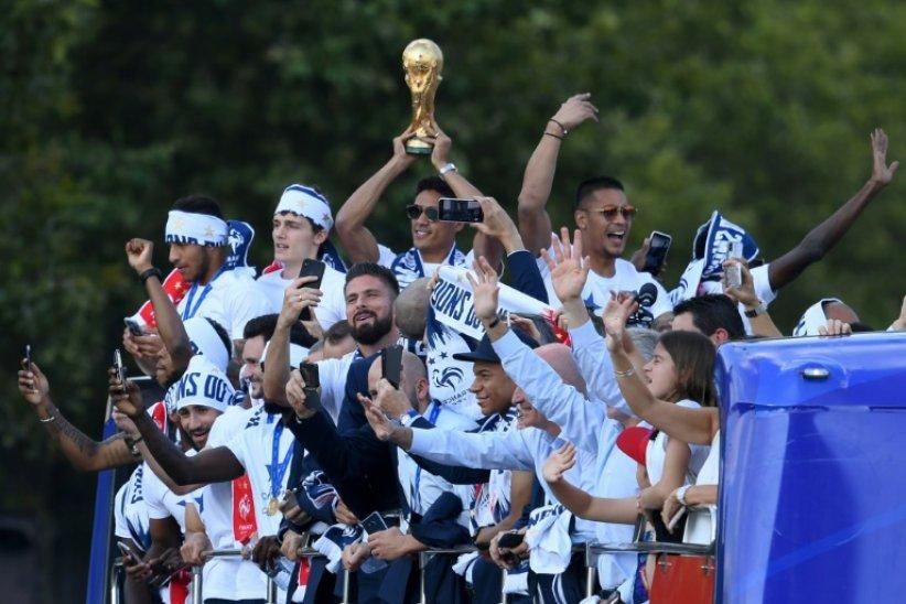 Qui sont les champions du monde français les plus suivis sur les réseaux sociaux?