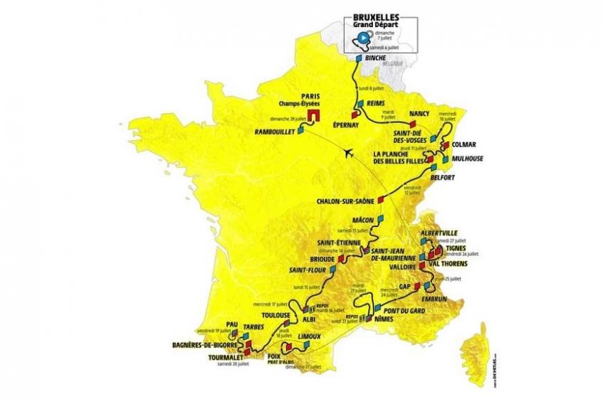 Le guide du Tour de France 2019