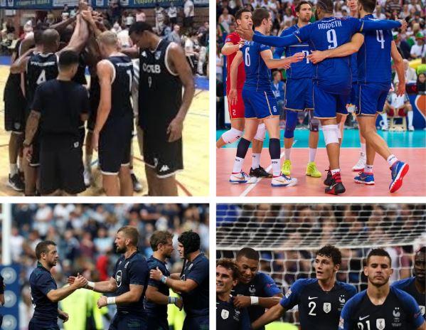 Rentrée chargée pour les sports collectifs français