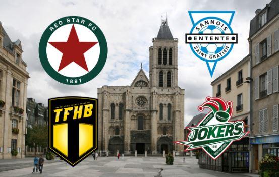 Le Tour de France des clubs, Jour 8: Le Val d'Oise et la Seine-Saint-Denis