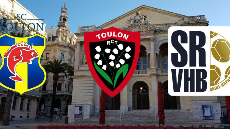 Le Tour de France des clubs, jour 38: Toulon et Saint-Raphaël