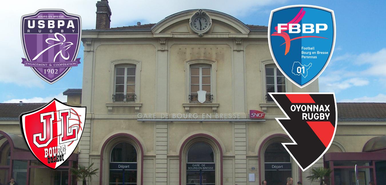Le Tour de France des clubs, Jour 29: Bourg-en-Bresse et Oyonnax