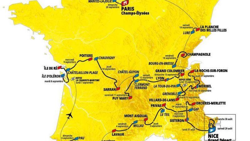 Les favoris du Tour de France 2020