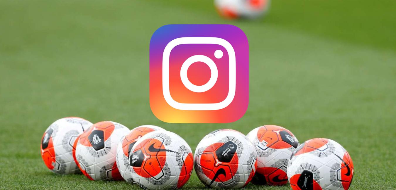 Le classement des clubs les plus suivis sur Instagram
